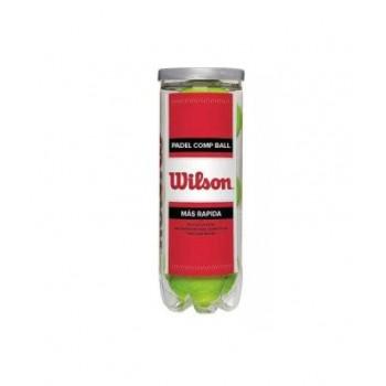 TUBO 3 PELOTAS PADEL WILSON...