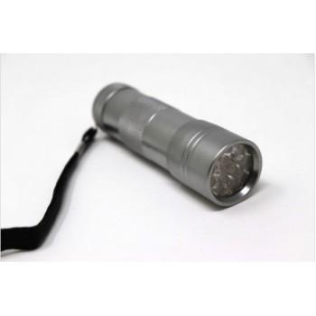 LINTERNA UV 12 LED